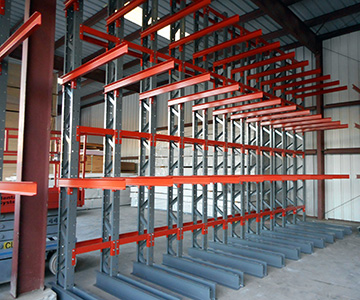 Structural Cantilever Racking Single Side