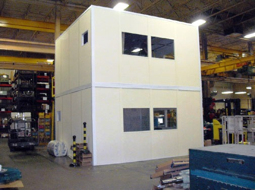 Panel Built Two Story Modular Office