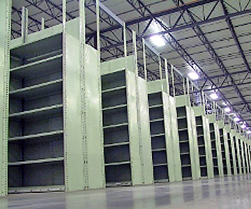 Steel Shelving for Small Parts/Small Case Pick
