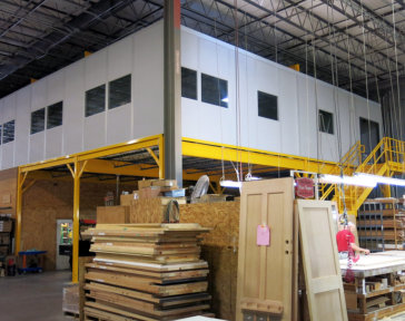 In-Plant Office with Mezzanine